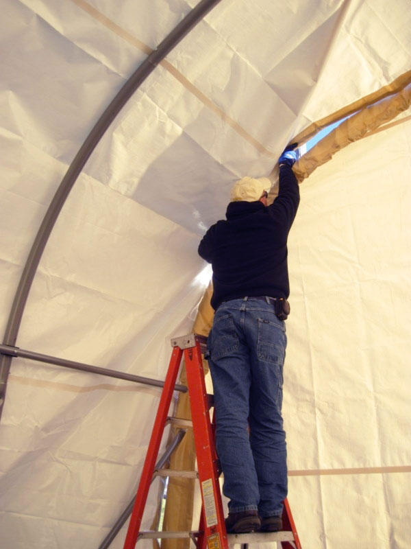 Installing a Round ShelterLogic ShelterTech