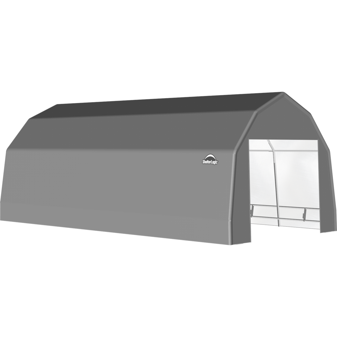 SP Barn 12X20X9 Gray 14 oz PE Shelter