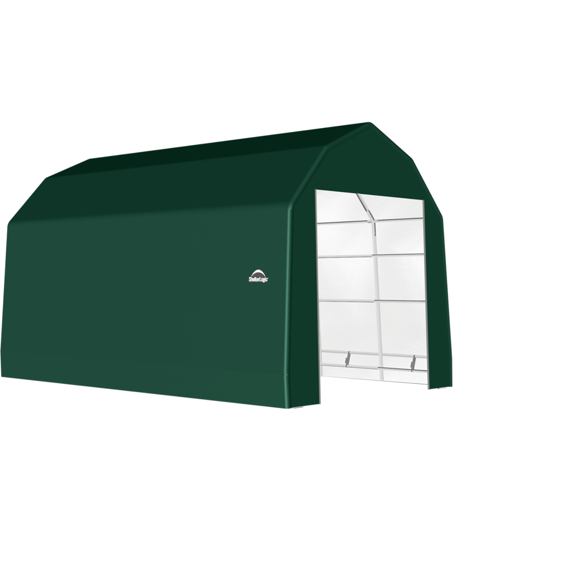SP Barn 15X24X14 Green 14 oz PE Shelter